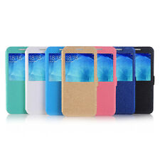 Samsung Galaxy Note 5 Five PU Leather Flip Case Cover Back Stand Brand Dustin