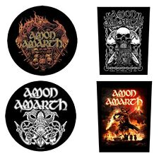 AMON AMARTH - OFFICIAL GIANT SEW-ON BACKPATCH battlefield surtur rising patch
