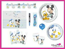 Kit Festa 8 Bambini Mickey Infant Festa Compleanno Bambina Party
