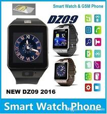 SMART Watch Phone DZ09 For Android IOS Bluetooth, Camera SIM Card n Memory Slot☺