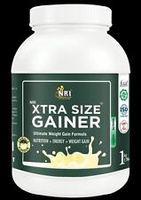 NRI Formulation Xtra Size Weight Gainer 5kg :FREE BAG 1PC