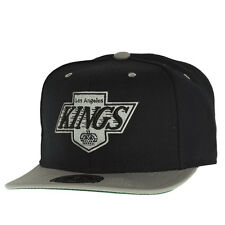 Mitchell & Ness FITTED Cap - NHL Los Angeles Kings schwarz