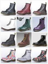 New Dr Martens 1460Z Unisex Airwair 8 Eyelet Leather Boots Mens/Womens UK 3-13