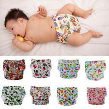Cartoon Cloth Diaper Nappy Covers Adjustable Snap Nappy Leak-proof Pocket Nappy