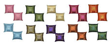 Pack of 2 Silk Designer Cushion Cover Throw Sofa Cushion Cover 10 Optional Color