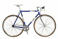 GIOS VINTAGE PISTA SINGLE SPEED SINGLESPEED RENNRAD STAHL ROAD BIKE STEEL RH 56