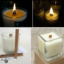 50 Sets Environmental Wooden Candle Core Wooden Wick for Handmake Scented Candle