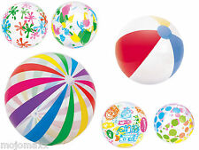 "16"" 20"" 24"" 48"" Inflatable Blowup Pool Beach Ball Holiday Party Swimming Garden"