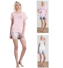 Shorty Donna Pigiama corto Pigiama tg. S-XL 3 colori T-Shirt novità