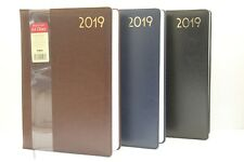 2018 A5 OR A4 QUALITY SOFT PADDED 'WEEK TO VIEW OR DAY A PAGE' DIARY & PLANNER.