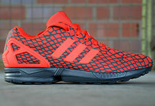 ADIDAS ZX FLUX HERRENSCHUHE SNEAKER TURNSCHUHE ROT TORSION  La Trainer