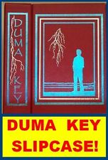CLEARANCE OFFER!  STEPHEN KING Duma Key Slipcase and Two Color Foil Stamping!