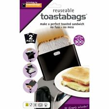 Toastabags Reusable Dishwasher Safe Toaster Toasted Toastie Toasty Sandwich Bags
