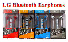 LG BT MS-606 Bluetooth Stereo Headset High Quality Sound Earphone Mic Remote