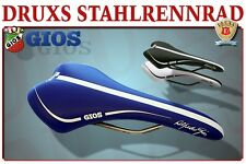 SL SELLE ITALIA SATTEL SADDLE SELLA RENNRAD ROAD BIKE GIOS BLUE BLACK WHITE NEW