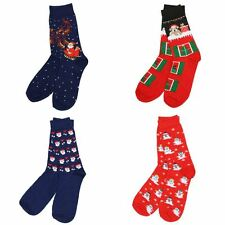 Adult Christmas socks rudolph santa snowman santa xmas gift stocking filler