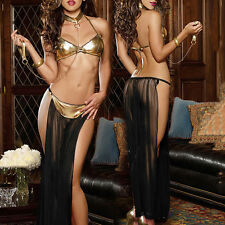 High Quality Sexy Women Patent leather Net Yarn Perspective Women Prisoners Set