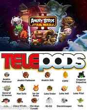 Angry Birds Star Wars II 2 Telepods Paquete Doble (Escoger The One You Want)