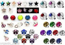 Multi Gem Glitter Star Ufo Flower Dermal Anchor Skin Diver 1.2mm /1.6mm Piercing