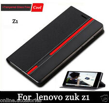 Luxury Stylish PU Leather Flip Wallet Back Cover Stand Case For Lenovo Zuk Z1