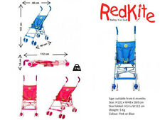 Red Kite Push Me Lite Stroller Fuschia Pink Or Blue Pushchair Pram Buggy