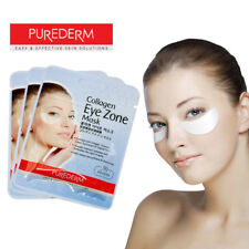 PUREDERM Collagen Eye Zone Mask Puffiness Dark Circles Wrinkle Care *UK Seller*