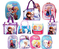 Official Disney Frozen Elsa Anna & Olaf Backpack/Messenger and Fashion Bags