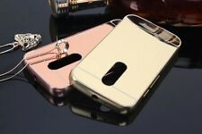 Luxury Aluminium Metal Bumper Frame MIRROR Back Case For Motorola Moto G3 3rdGEN