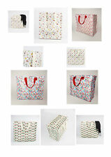 Large Vintage Shopping Tote Bag Storage Reusable Bags Zipped,for Toys,clothes.
