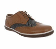 Etromilano Tan Leather Casual Brogue Shoes UK 10