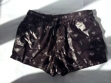 MENS PUMA NYLON WET LOOK SHINY SPORT SILKY VTG GLANZ CAL SURF SHORTS  BNWT
