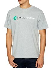 BILLABONG T-SHIRT *** STRIKE TEE *** GREY HEATHER, Gr. S, GRAU