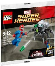 LEGO SUPER HEROES - SPIDERMAN JUMPER POLYBAG FIGURE + FREE GIFT - FAST - SEALED