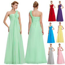Long Chiffon Bridesmaid Formal Gown Party Ball Cocktail Evening Prom Dress Grad
