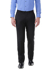 Oxemberg Slim Fit Men's Black Formal Trouser