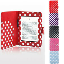 Magnetic Ultra Thin PU Leather Smart Protective Case Cover for Amazon Kindle 4 5