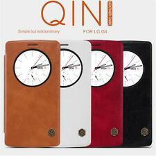 Quick Circle View Smart Flip PU Leather Cell Phone Case Cover For LG G4