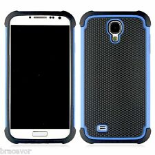 Bracevor Triple Layer Defender Hard Shell Back Case Cover for Samsung Galaxy S4