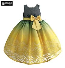 Vestito Bambina Cerimonia Damigella Girl Flower Special Occasion Dress DGZF015