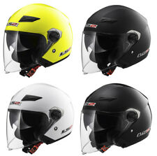 LS2 OF569 Track Ouvert Double visière scooter URBAN CASQUE MOTO