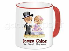Personalised Gift Romantic Love Couple Mug Valentines Anniversary Birthday #3