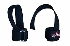 Aprodo Weight Lifting Bar Straps Body Building Gym Wrist Support