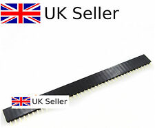 10Pcs 40pin 2.54mm Single Row Straight Female Pin Header Strip PBC Arduino UK