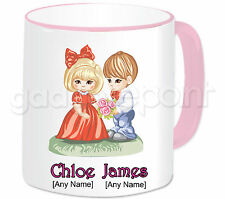 Personalised Gift Romantic Love Couple Mug Valentines Anniversary Birthday #9