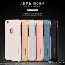LUXURY HYBRID 5TH GEN MOTOMO PC + TPU BACK COVER CASE FOR APPLE Iphone 6 6s