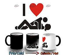 TAZA MAGICA BROMA I LOVE SEXO AMOR MAGIC MUG tasse es