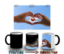 TAZA MAGICA MANOS I LOVE YOU MAGIC MUG tasse es