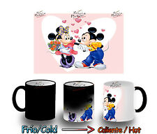 TAZA MAGICA MICKEY MINIE AMOR LOVE AMOUR MAGIC MUG tasse es