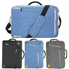 "12_15.6"" Laptop Bag Messenger Tablet Carrying Shoulder Briefcase Travel Backpack"