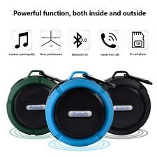 Fashion Mini C6 Wireless Outdoor Portable Waterproof Bluetooth Speaker with Clip